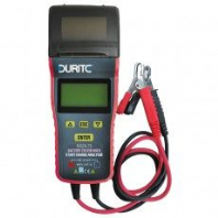 DURITE  Electronic Battery Tester With Start/Charge Analyser - 12/24V- <br> ALT/0-524-73